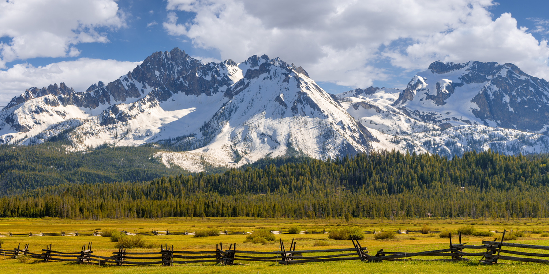 Sawtooth Landscape by Kyle Rosenmeyer