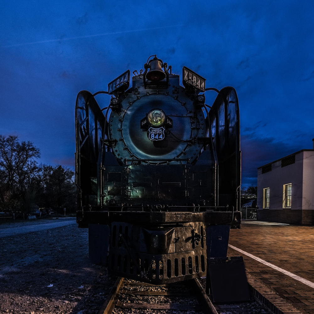 Night Train by Kyle Rosenmeyer