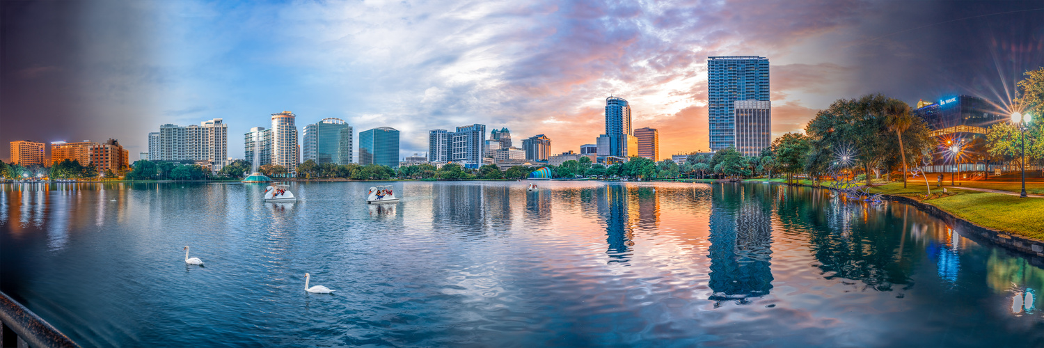 Summer Solstice at Lake Eola by Kyle Rosenmeyer