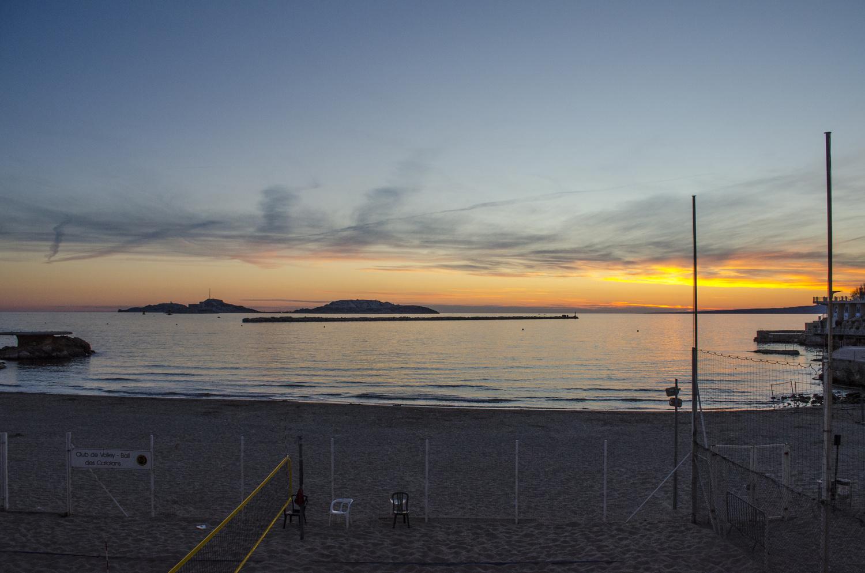 Marseilles Sunseits by Thomas Cushman