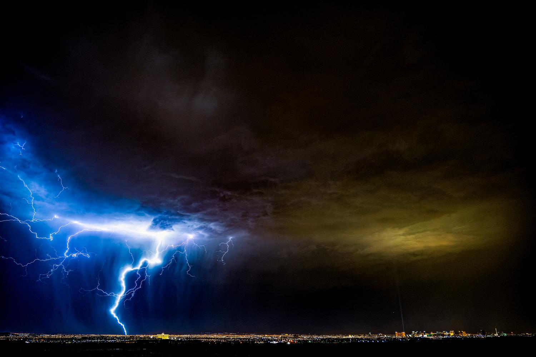 Las Vegas Thunderstorm by Garey Martin