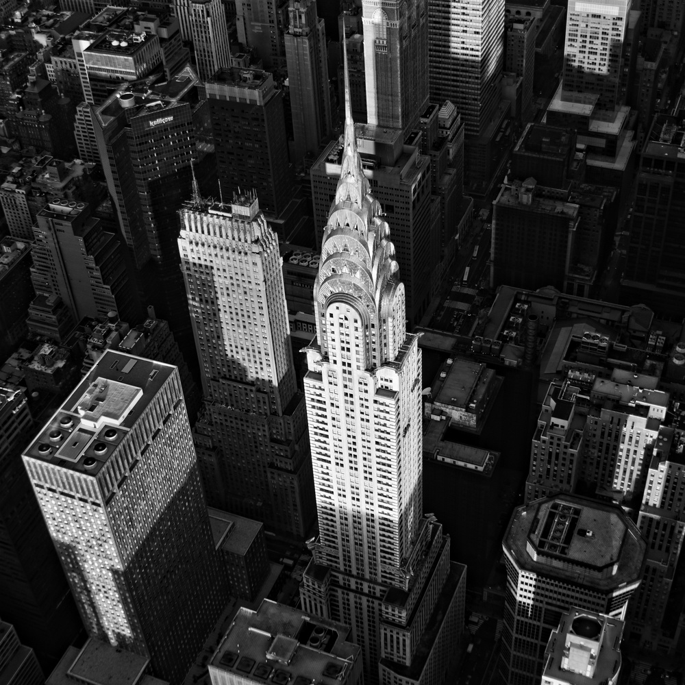 Chrysler Building Sunrise #8 by Peter Massini