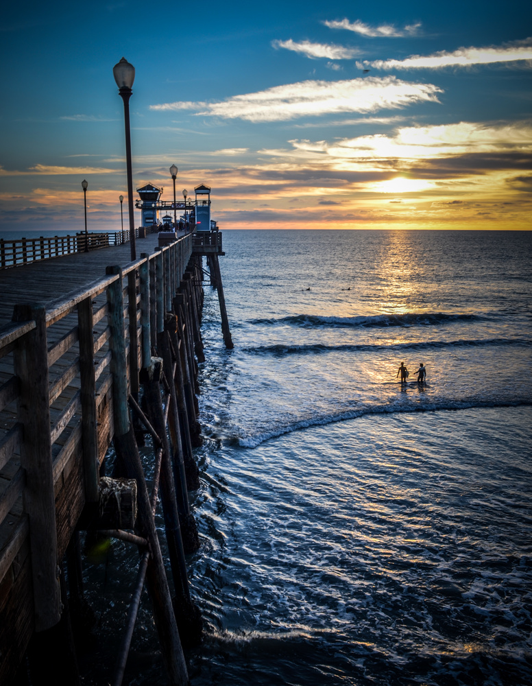 Oceanside Pier by Nathan Ruby