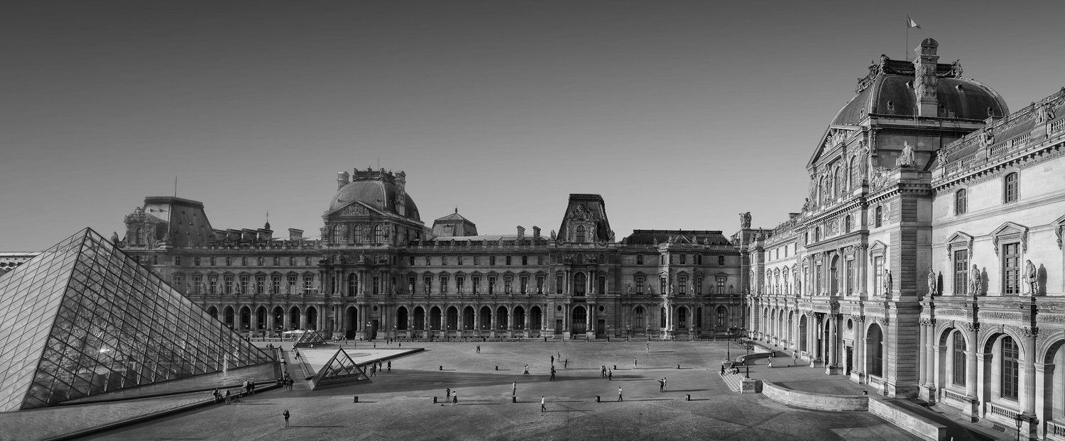 Louvre by Dennis Ramos