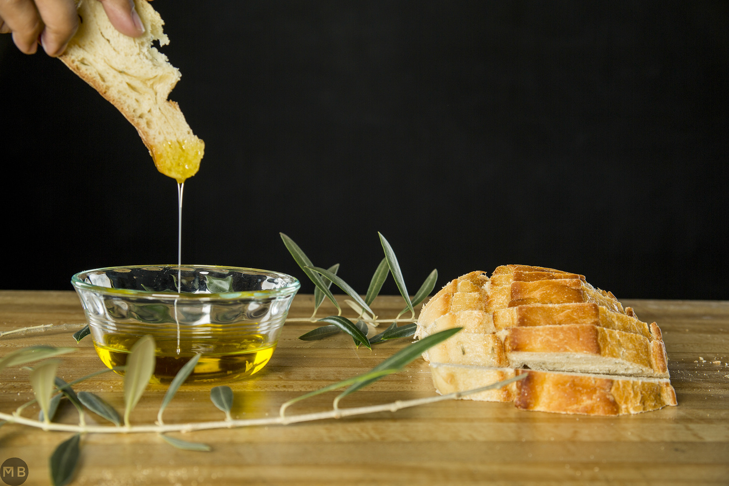 Olive Oil with bread by Markus Baumbach