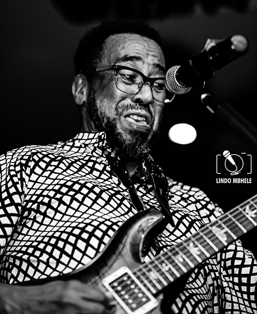Ernie Smith, South African guitarist by Lindo Mbhele