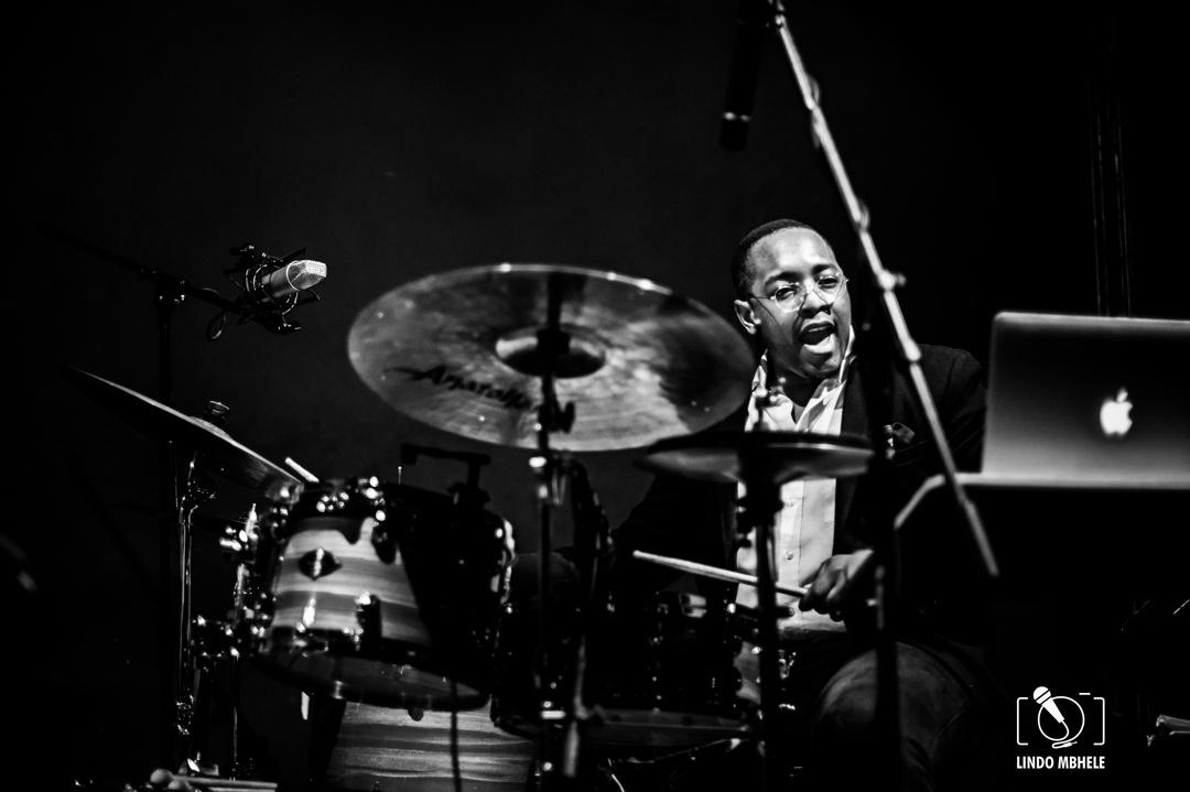 Jazz Drummer by Lindo Mbhele