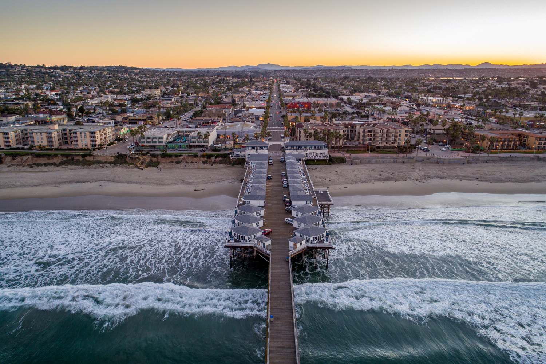 Sunrise Crystal Pier by Scott Basile