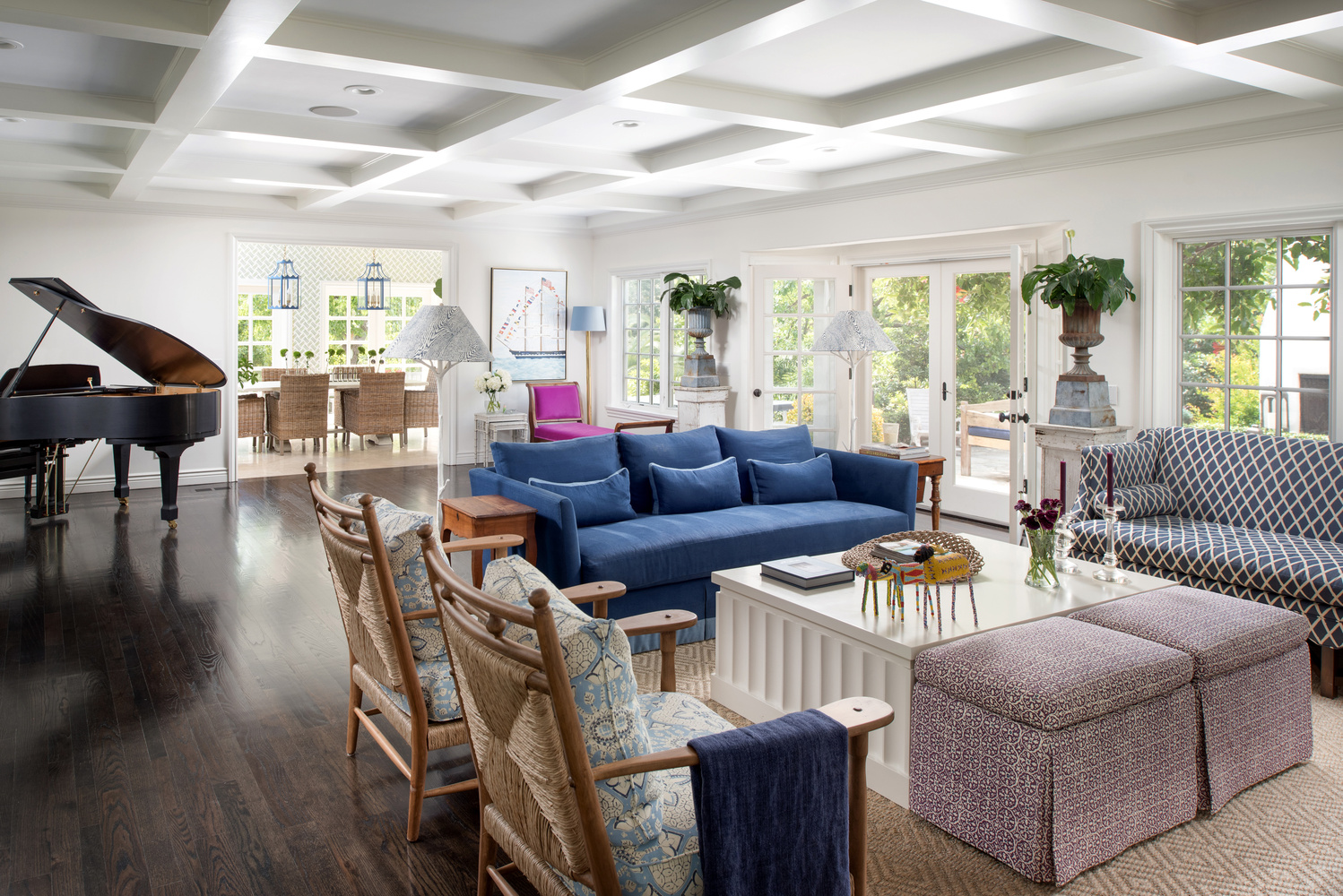 Sitting Room/Dining Room by Scott Basile
