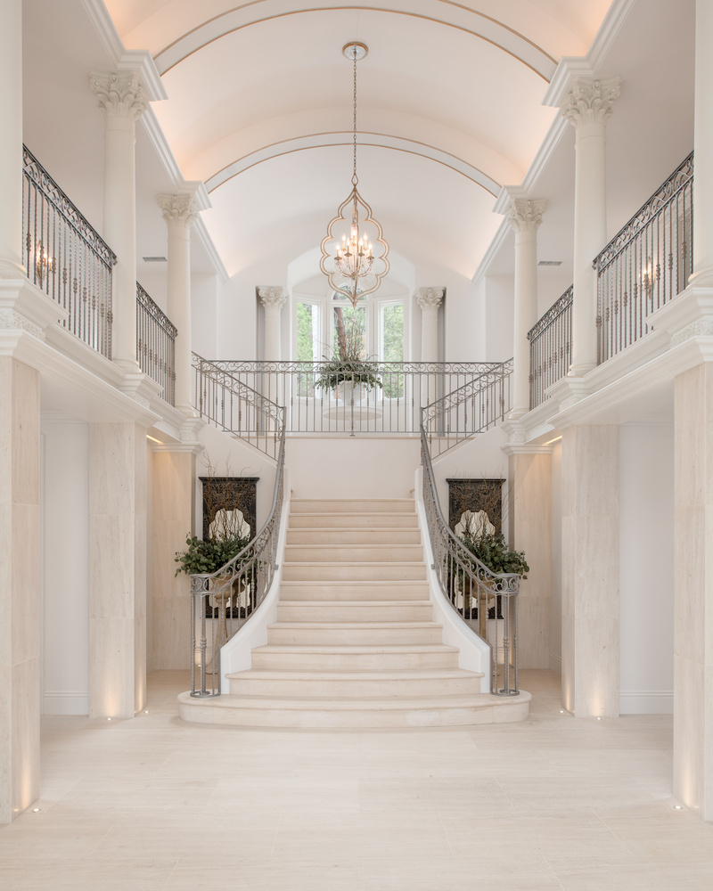 Entry Foyer by Scott Basile