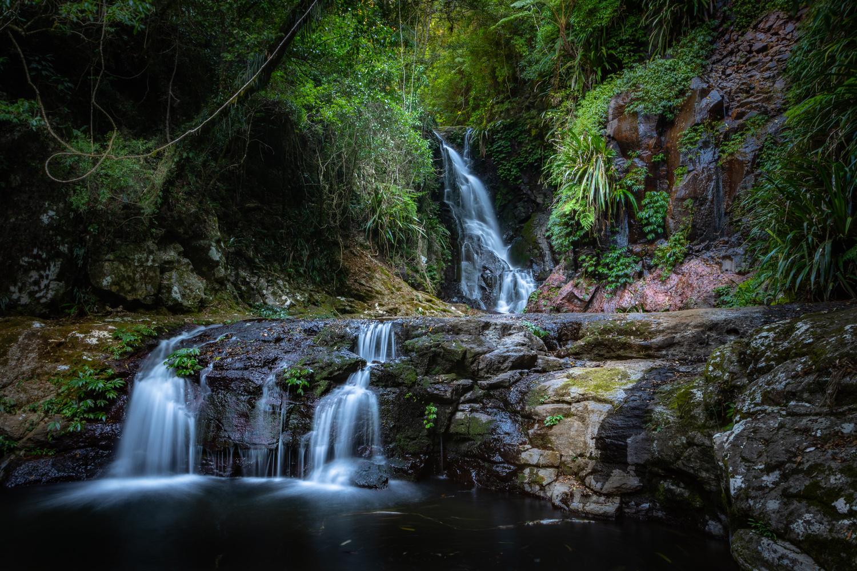 Elabana Falls, QLD, Australia by Daniel Baptist