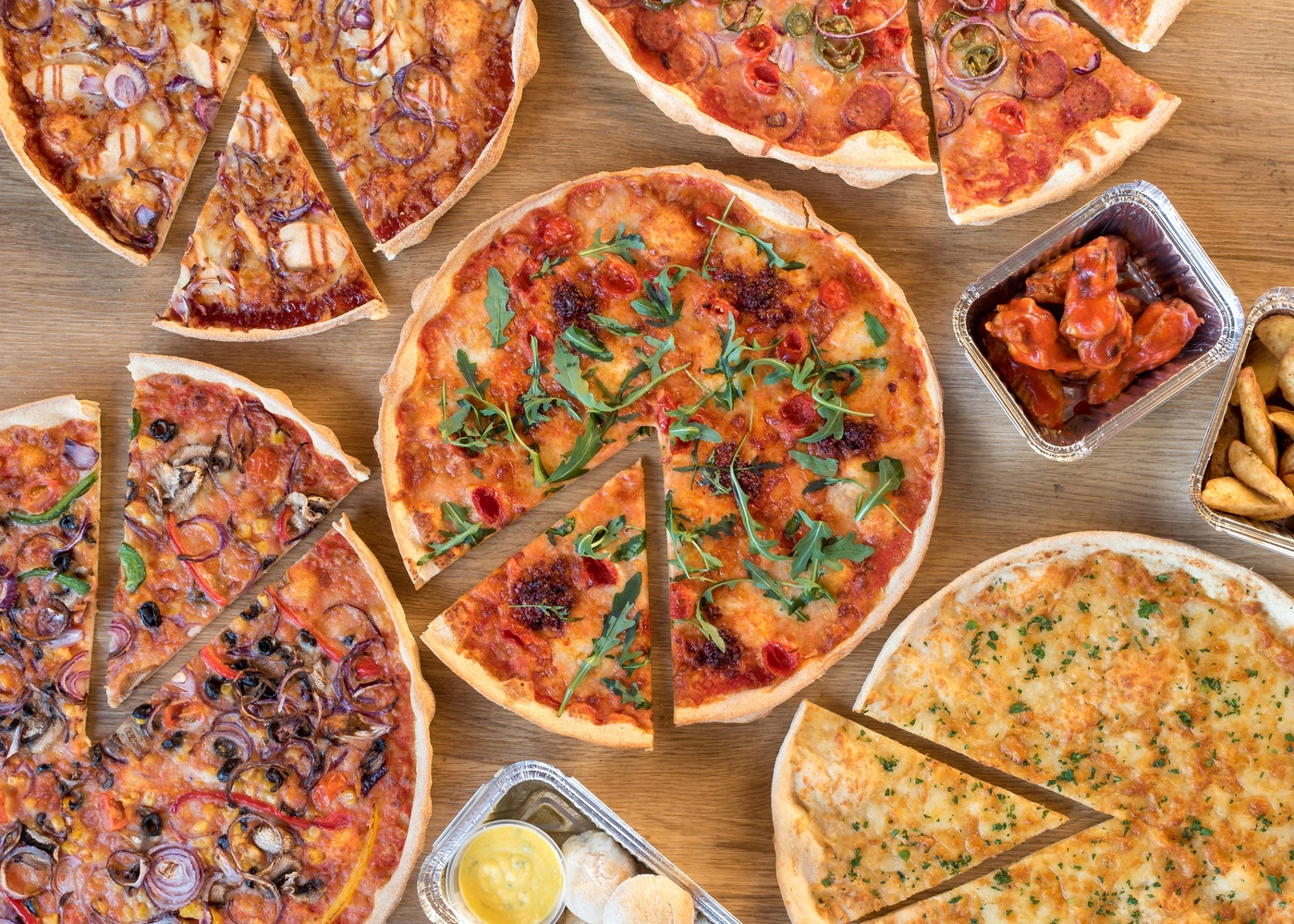 Pizza Feast by Kevin Drury