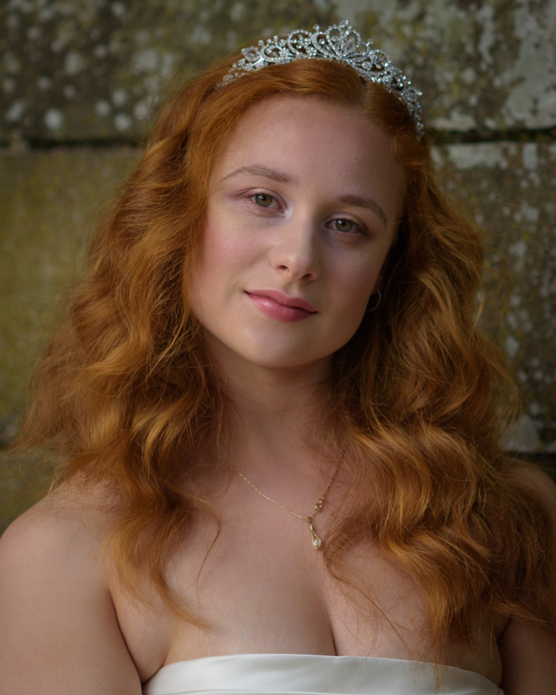 Redhead Bride by Kevin Drury