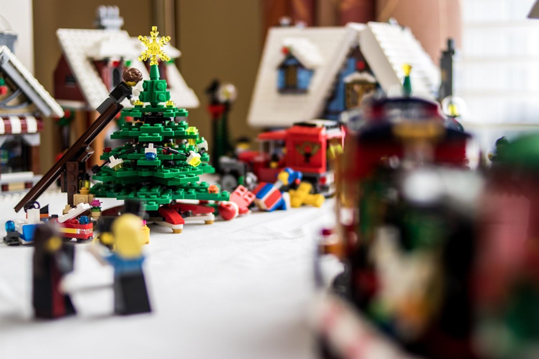 Lego Christmas Village  by Jason Havill