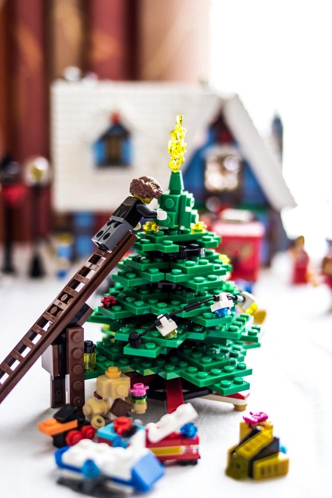 Lego Christmas Tree  by Jason Havill