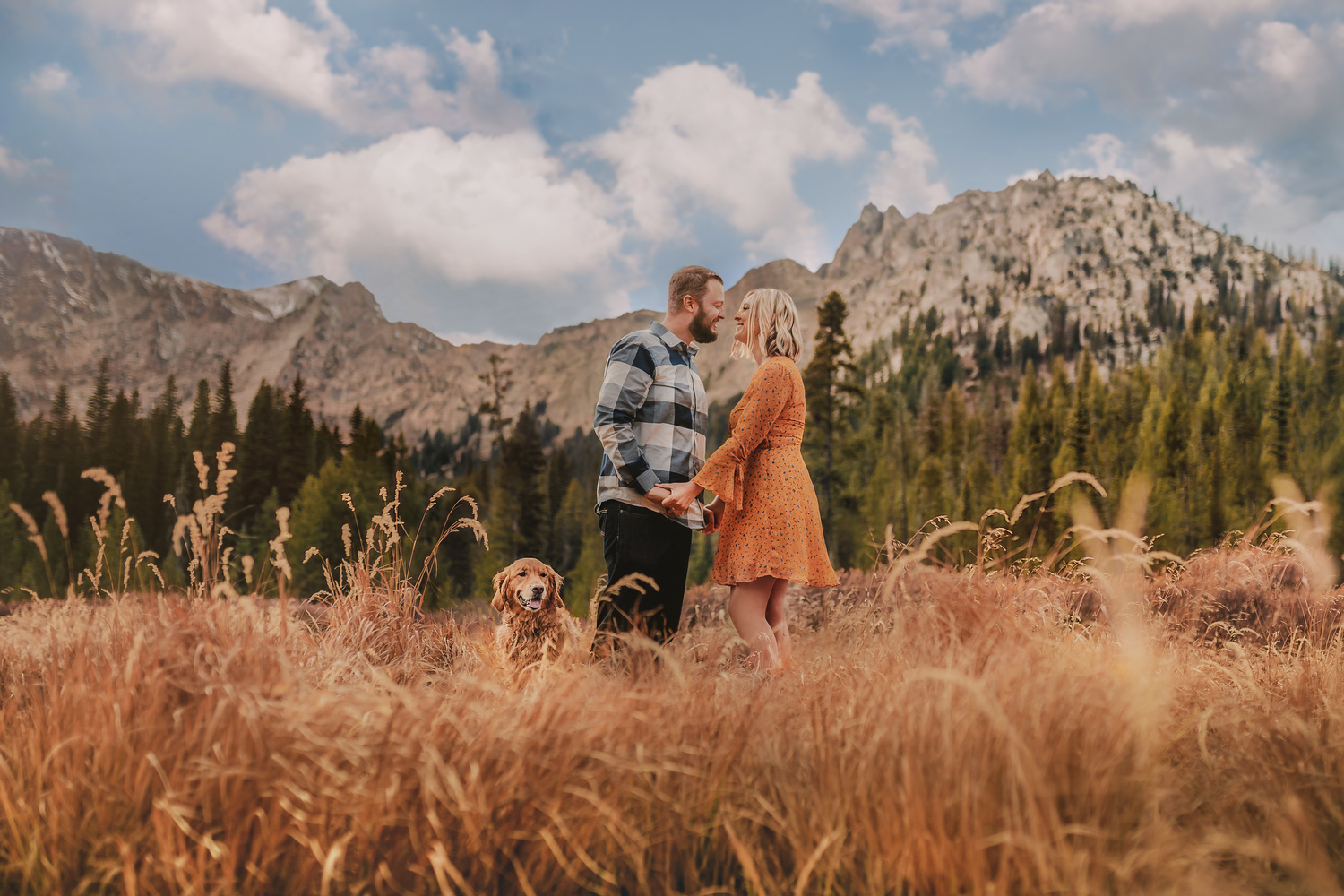 A Golden Engagement by Austin Williams