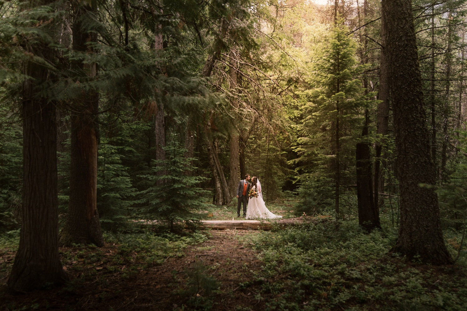 Married Couple in Glacier National Park by Austin Williams