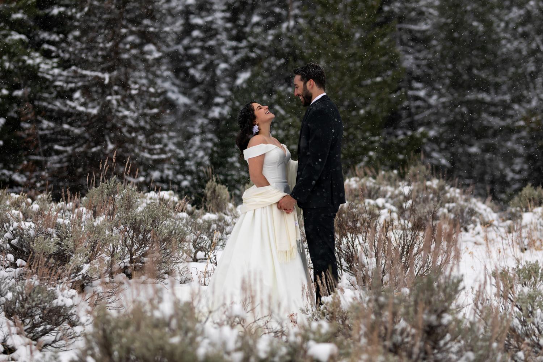 A Winter Wonderland Elopment by Austin Williams
