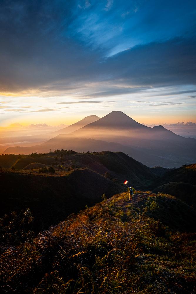 Mt Prau Indonesia by mark allan