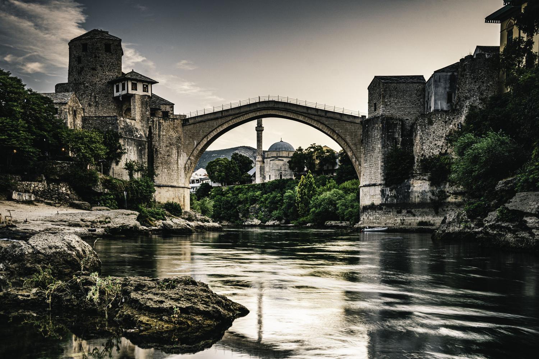 Mostar Bridge by mark allan