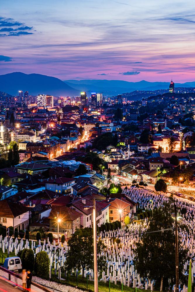 Sarajevo Sunset by mark allan