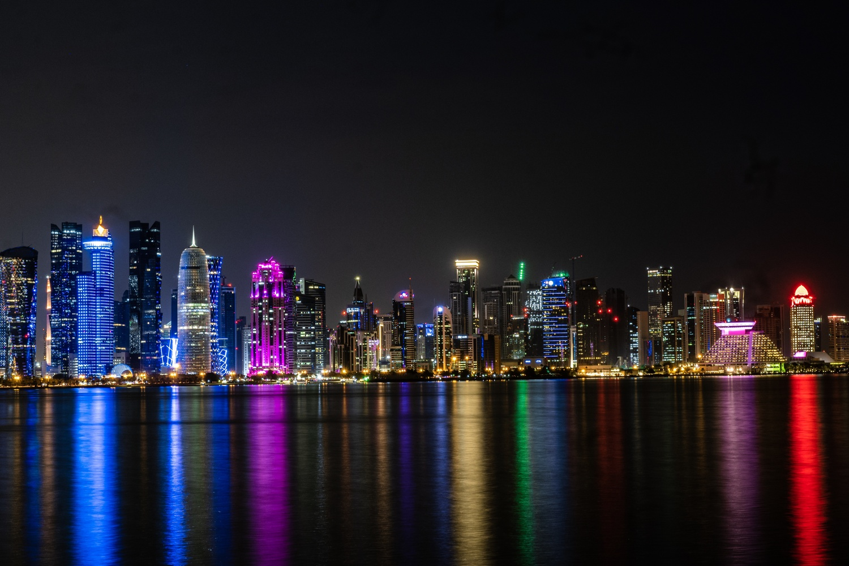Doha Skyline by mark allan