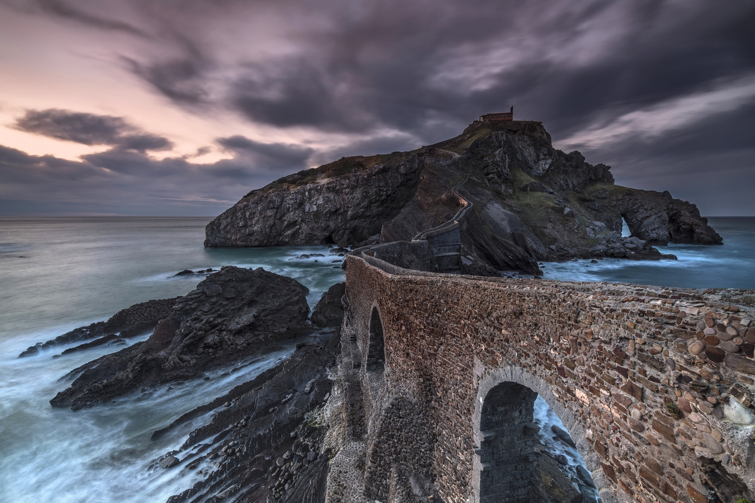 Gaztelugatxe, the Game of Thrones shrine by Andres Moline