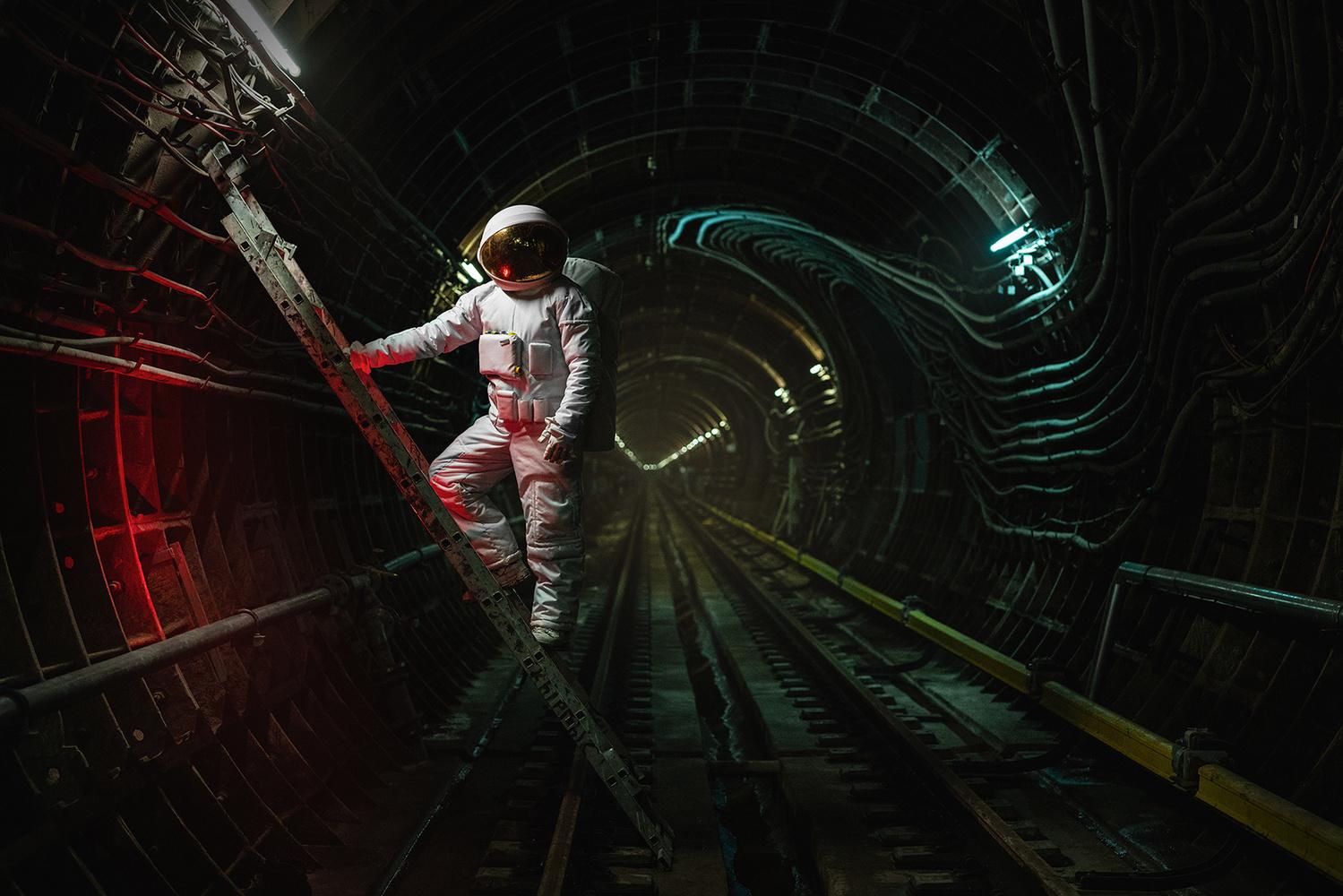 Underground Orbit by Ilya Nodia