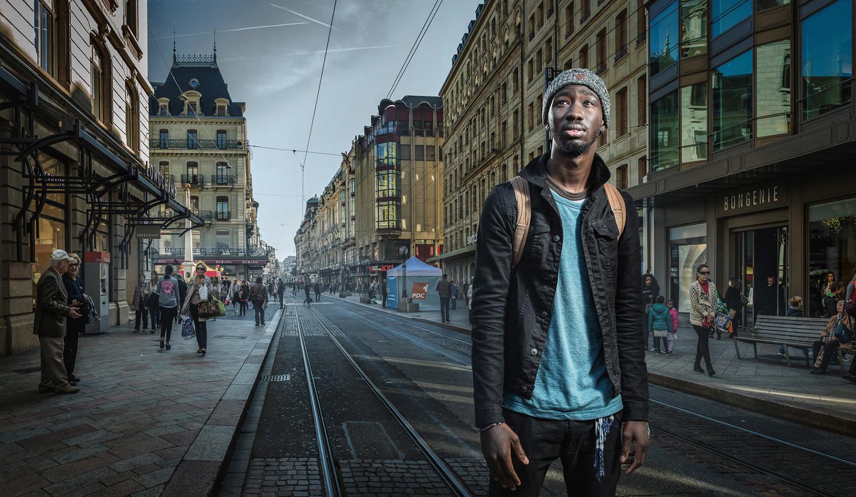 Passers. Portrait images photo project. Geneva by Ilya Nodia