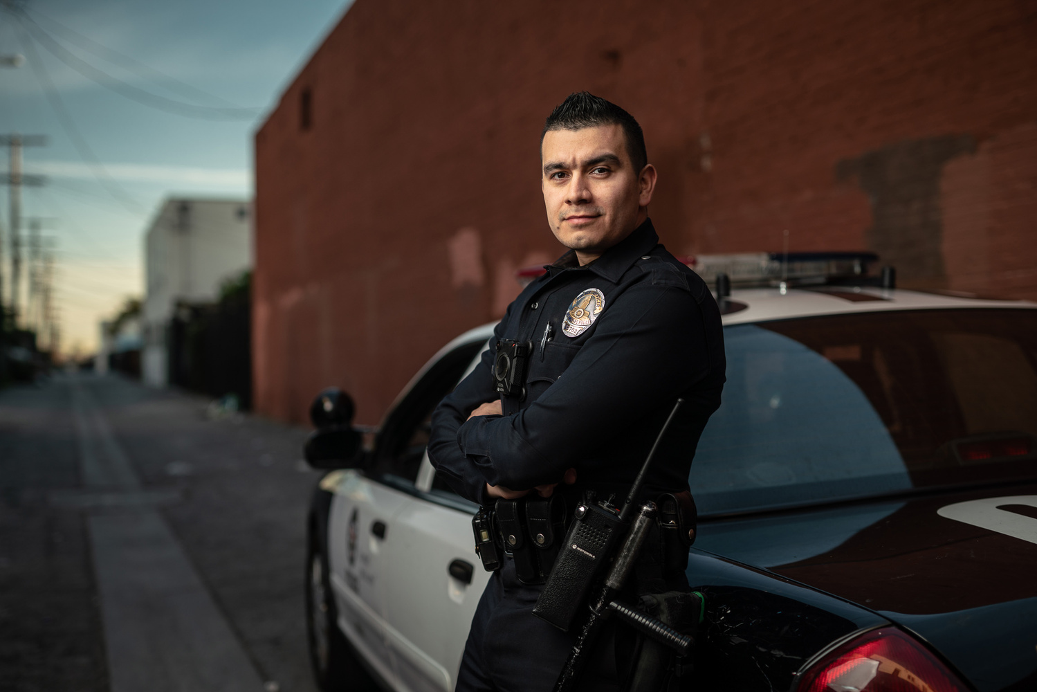 Life and work of a real Los Angeles Cop by Ilya Nodia