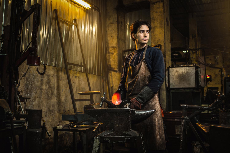 The Blacksmith by Ilya Nodia