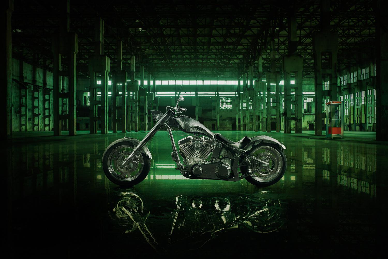 Harley-Davidson Custom: Matrix by Ilya Nodia