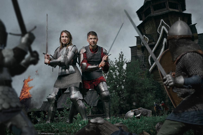 Warriors by Ilya Nodia