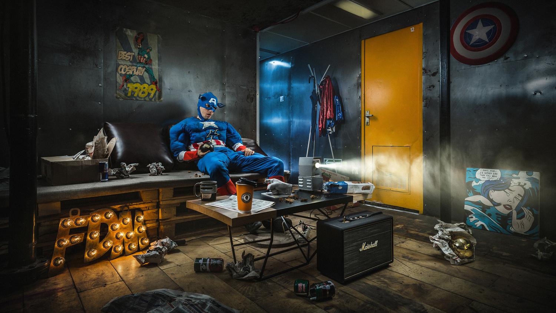 Sadness Superhero by Ilya Nodia