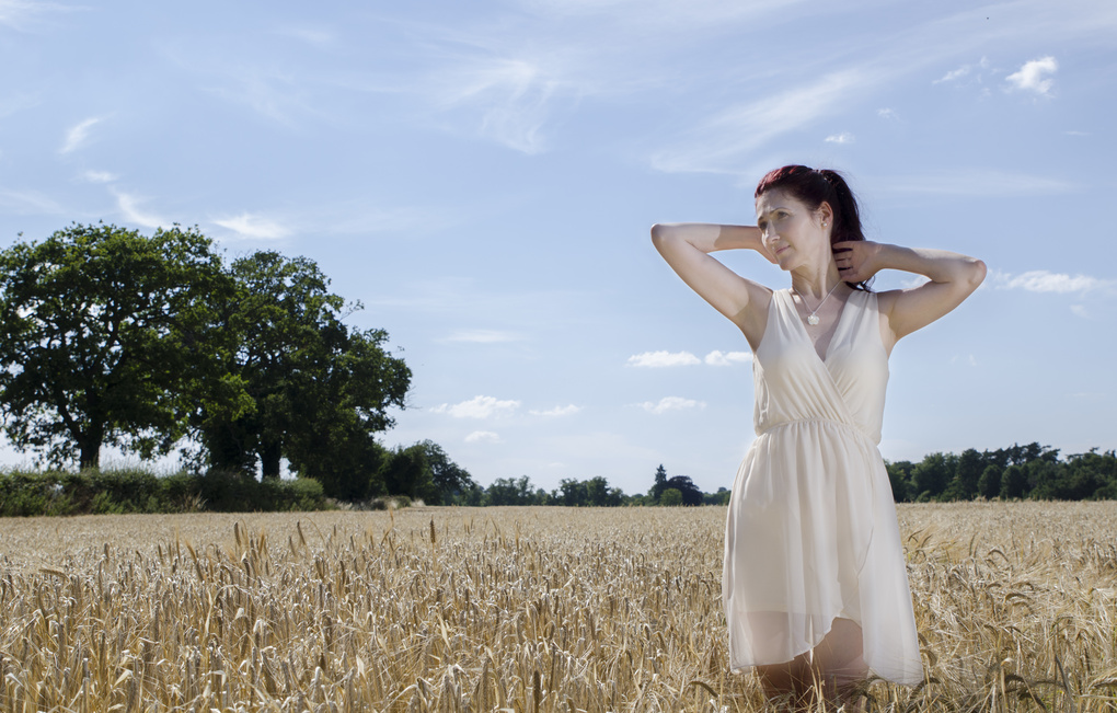 Playing in the fields by Taylor Gathercole