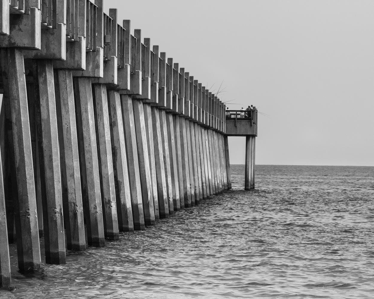 Fishing Pier by Tyler Schotsch