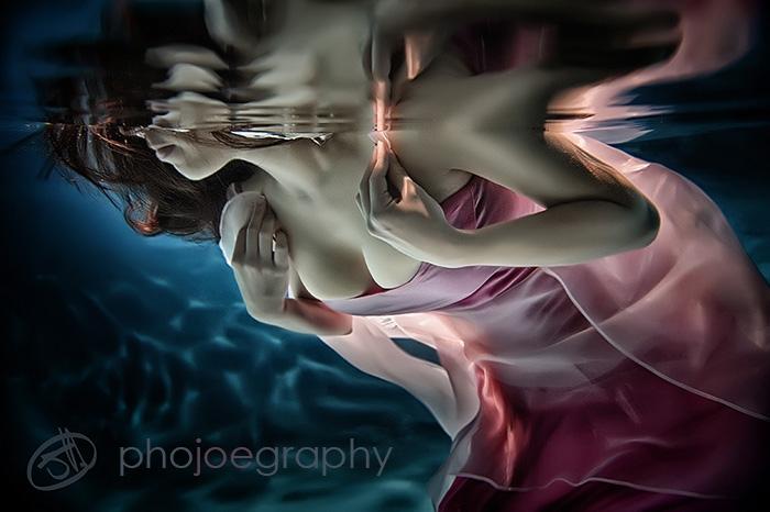 MyJess Underwater IV by Joe Hoddinott