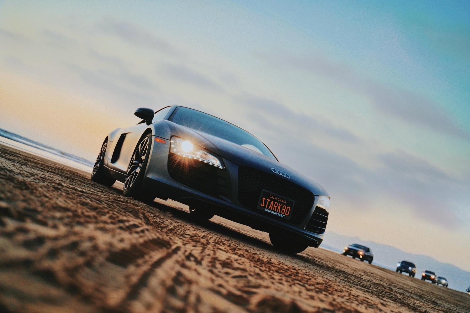 Audi R8 in Pismo Beach by Khoa Nguyen