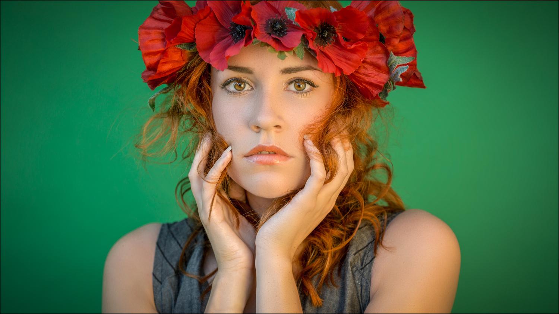 Flowergirl by Mark Heavisides