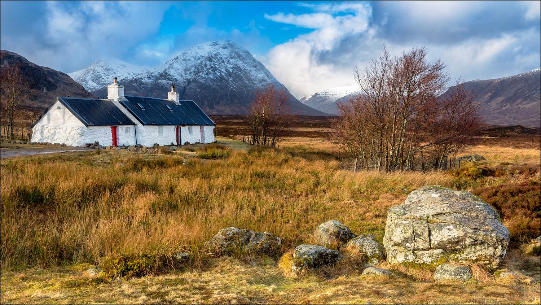 Blackrock Cottage, Glen Coe, Scotland by Mark Heavisides