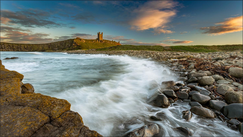 Dunstanburgh Castle, Northumberland  by Mark Heavisides