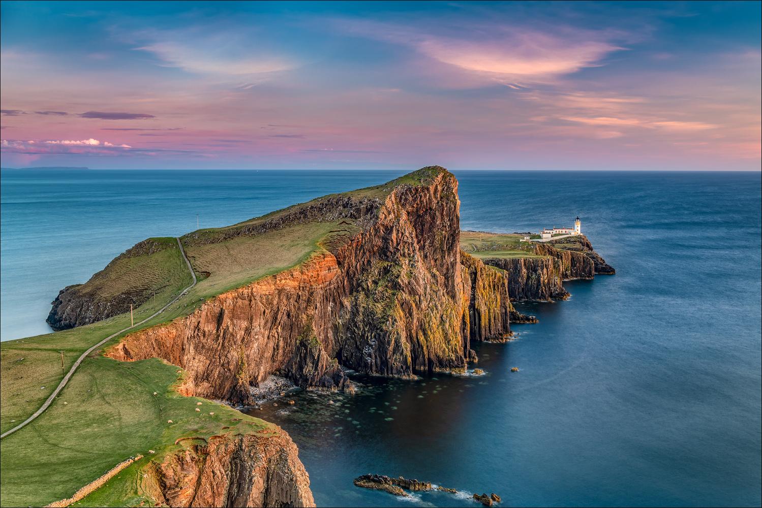 Neist Point, Isle of Skye by Mark Heavisides