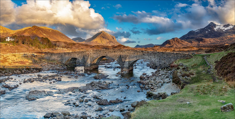 Sligachan Bridge by Mark Heavisides