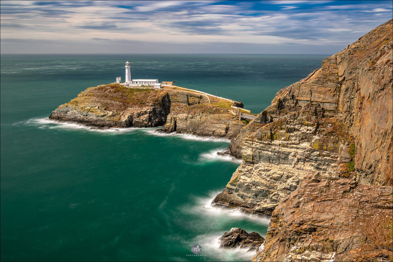 South Stack Lighthouse, Anglesey. by Mark Heavisides