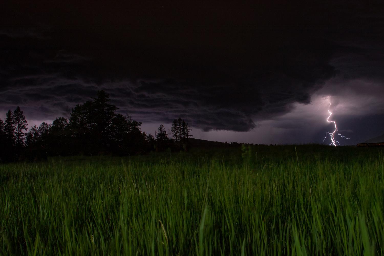 Big Sky Lightning by Ashleigh Magill