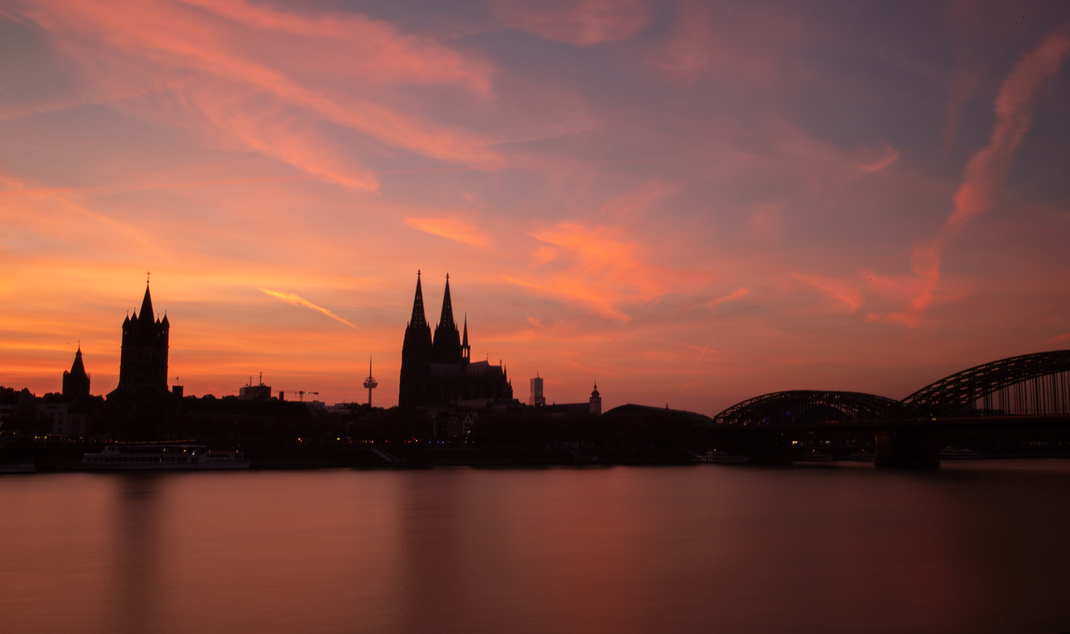 Cologne Cathedral at Sunset by Ashleigh Magill