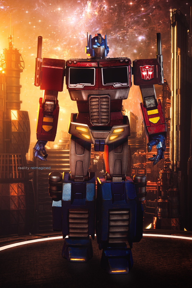 """I am Optimus Prime."" by David Byrd"