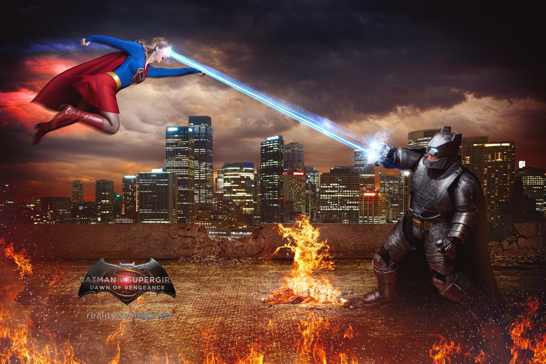 Batman V Supergirl - Dawn of Vengeance by David Byrd