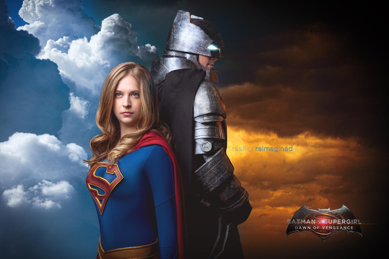 Batman V Supergirl by David Byrd