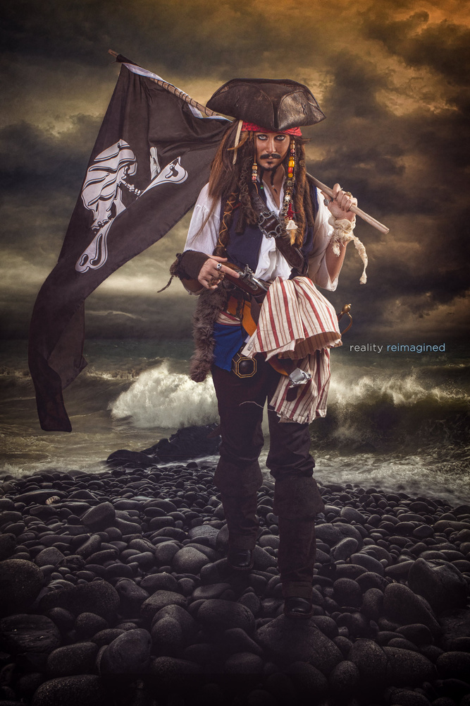 But I'm Captain Jack Sparrow, savvy? by David Byrd